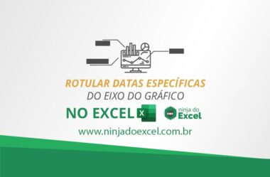 Rotular Datas Específicas do Eixo do Gráfico do Excel