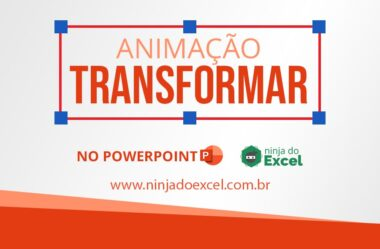 Animação Transformar no PowerPoint