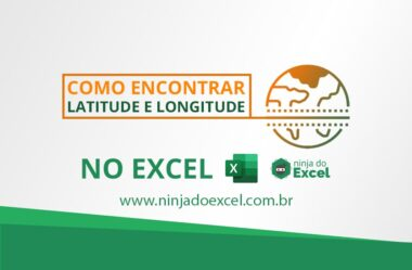 Como Encontrar Latitude e Longitude no Excel