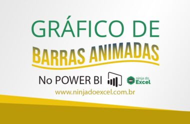 Gráfico de Barras Animadas no Power BI