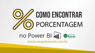 como calcular a porcentagem no Power BI