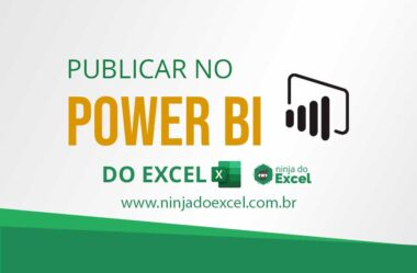 Publicar no Power BI do Microsoft Excel – Exportar Dados