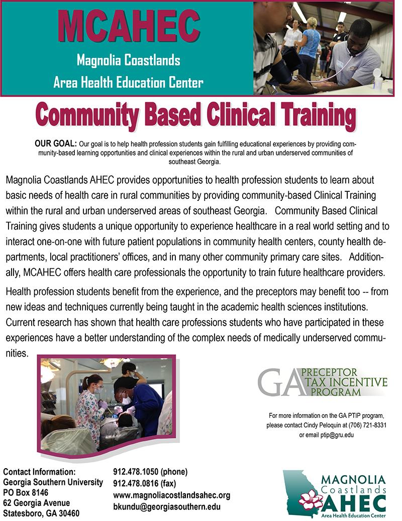 Clinical-Training-Fact-Sheet-2015