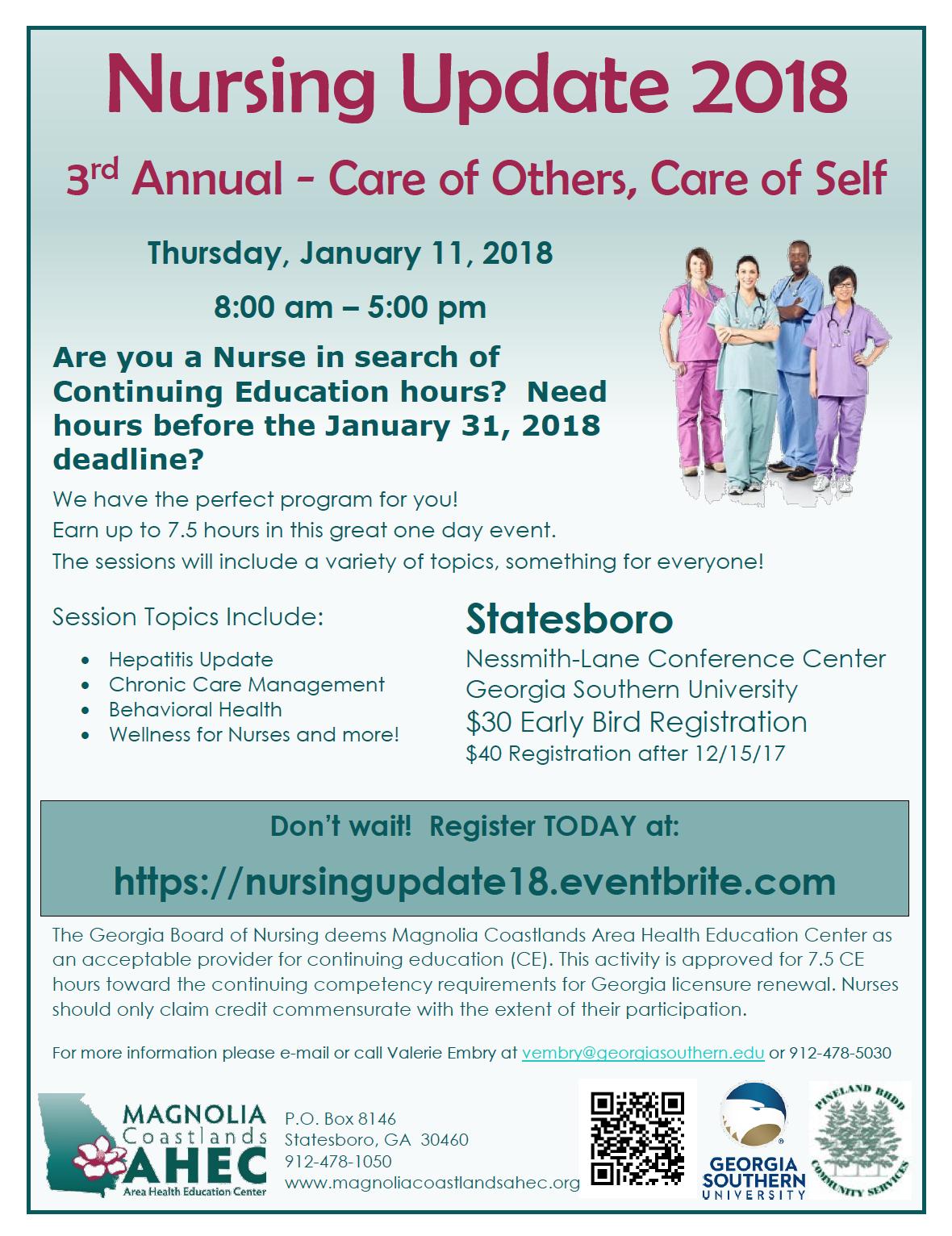 Nursing Update 2018