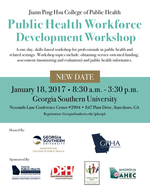 Public Health Workforce Development Workshop