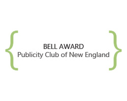 bell award, publicity club of new england