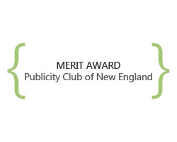 merit award, publicity club of new england