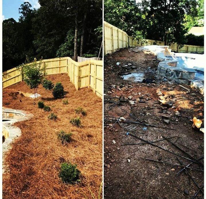 Residential Landscaping Poolside