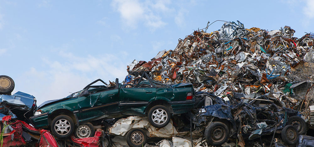 Scrapping Cars and Car Parts in Dallas, TX - Encore Recyclers in Garland, TX