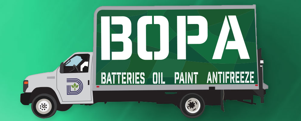 BOPA Event in Dallas - Recycling Batteries Oil Paint Antifreeze