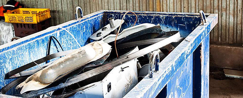 Construction Site Scrap Metal Recycling - Dallas, TX