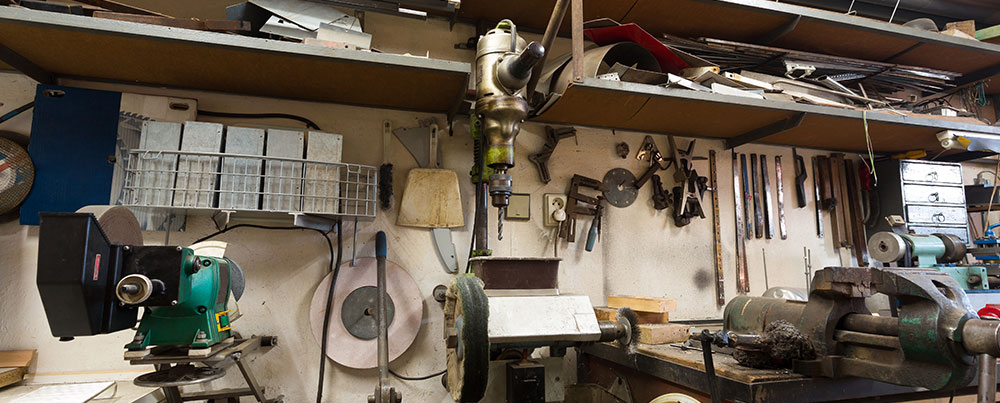 How to Set up a Scrapping Workshop in Your Garage - Encore Recyclers - Dallas, TX