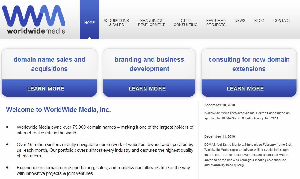 Worldwide Media Inc.