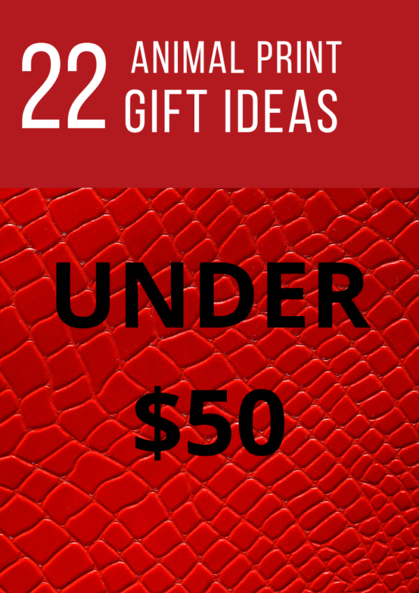 Animal Print Gifts Under $50
