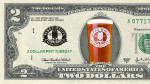 2 Dollar THBC Pints @ Terre Haute Brewing Co