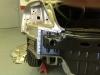 In process left rear body panel