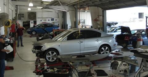 arizona collision center garage