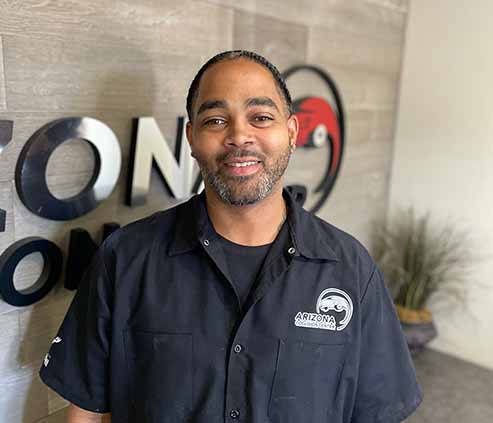 Anthony Reynolds-Parts Manager