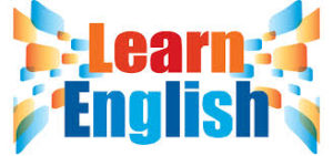 Colorful Learn English sign