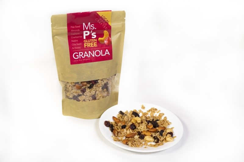 wonderfully moist and succulent granola