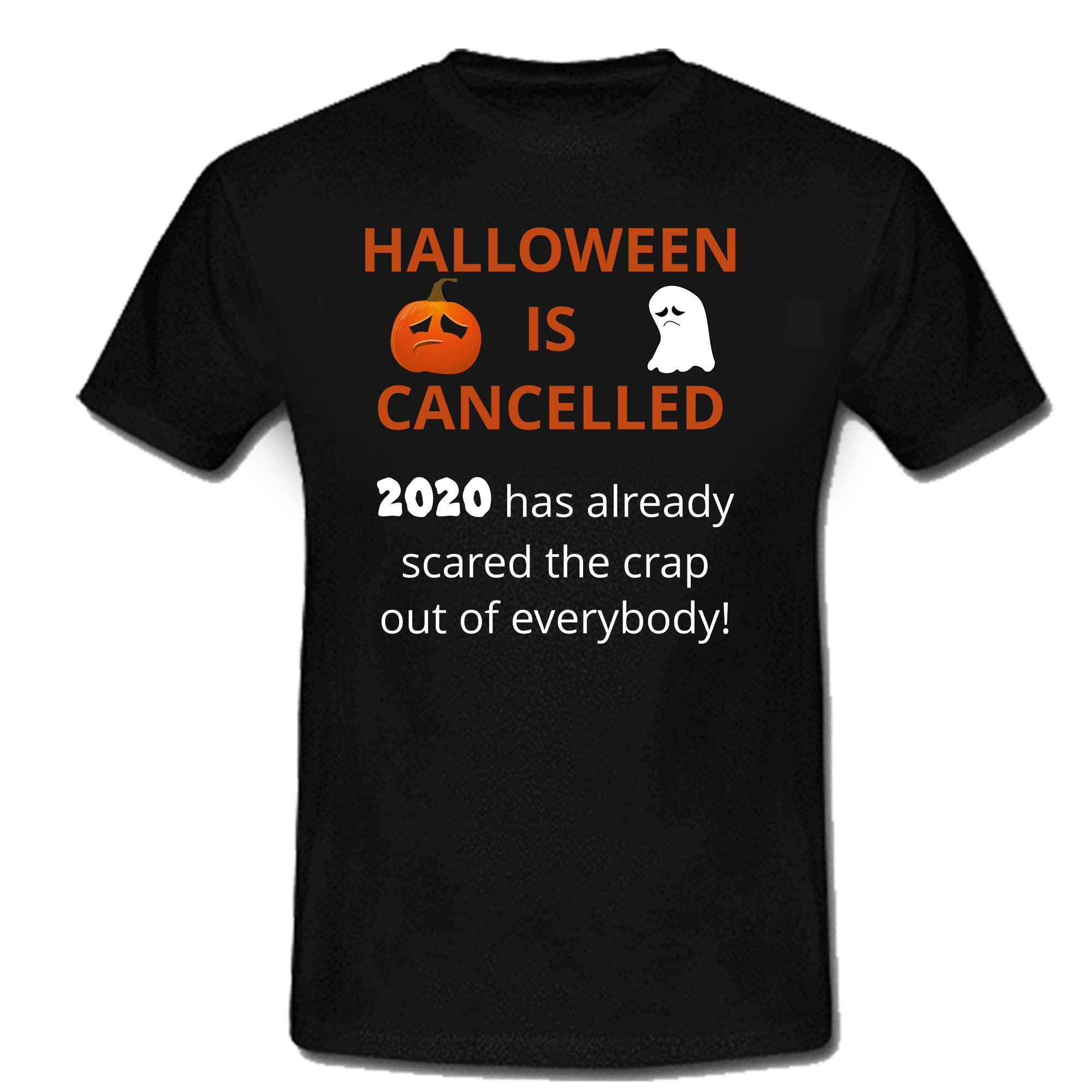 """Halloween Is Cancelled"" Haloween T shirt/tee"