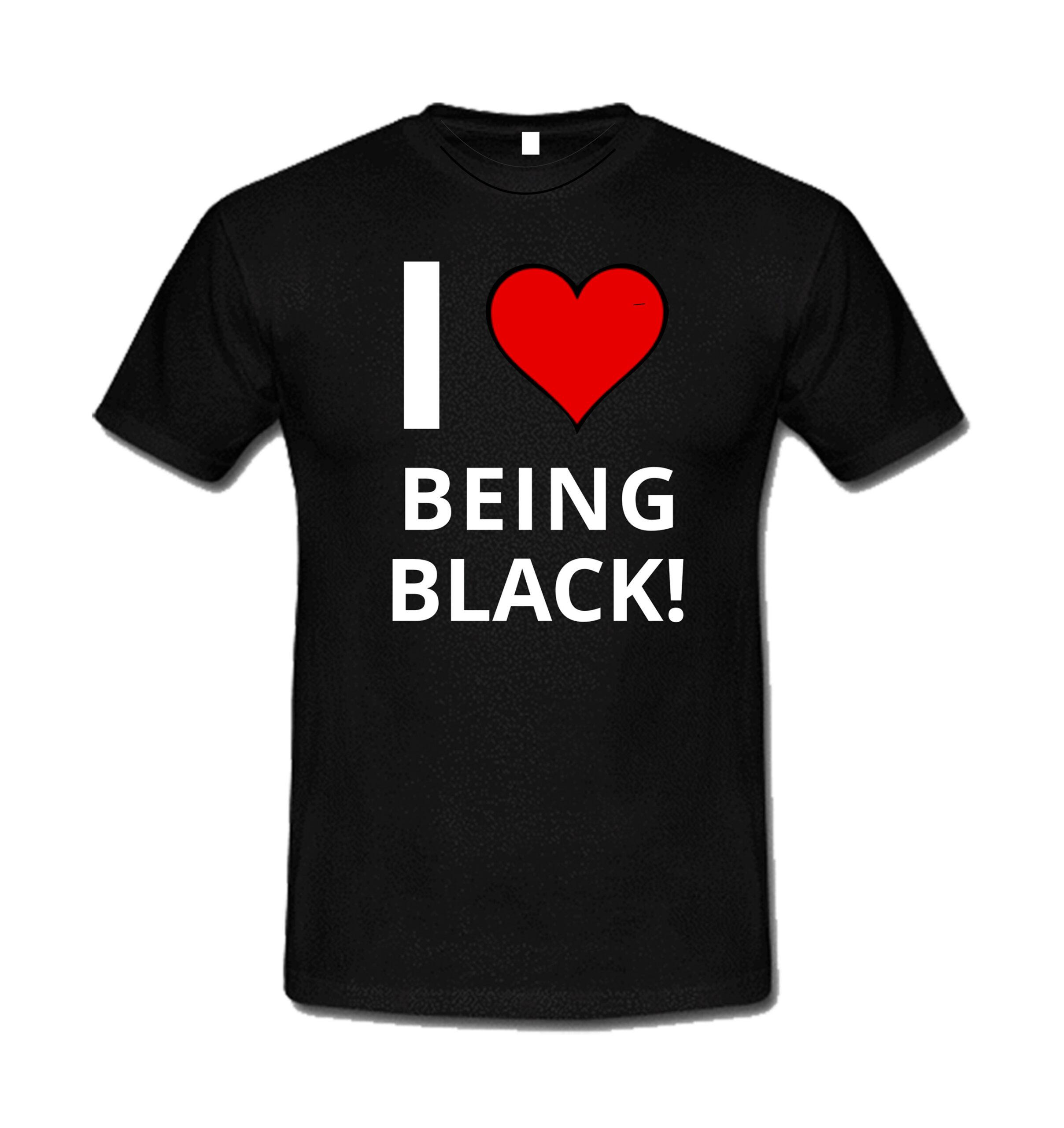 I love Being Black Tee
