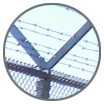 Salinas barbed wire fence
