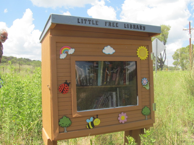 The library serving tiny Lochiel, on the Mexican border in San Rafael Valley.
