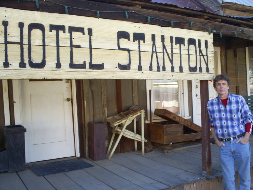 At the ghost town of Stanton, near Wickenburg, Arizona