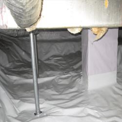 Crawl Space Stabilization | PowerPost Installation | SouthernDry of Alabama