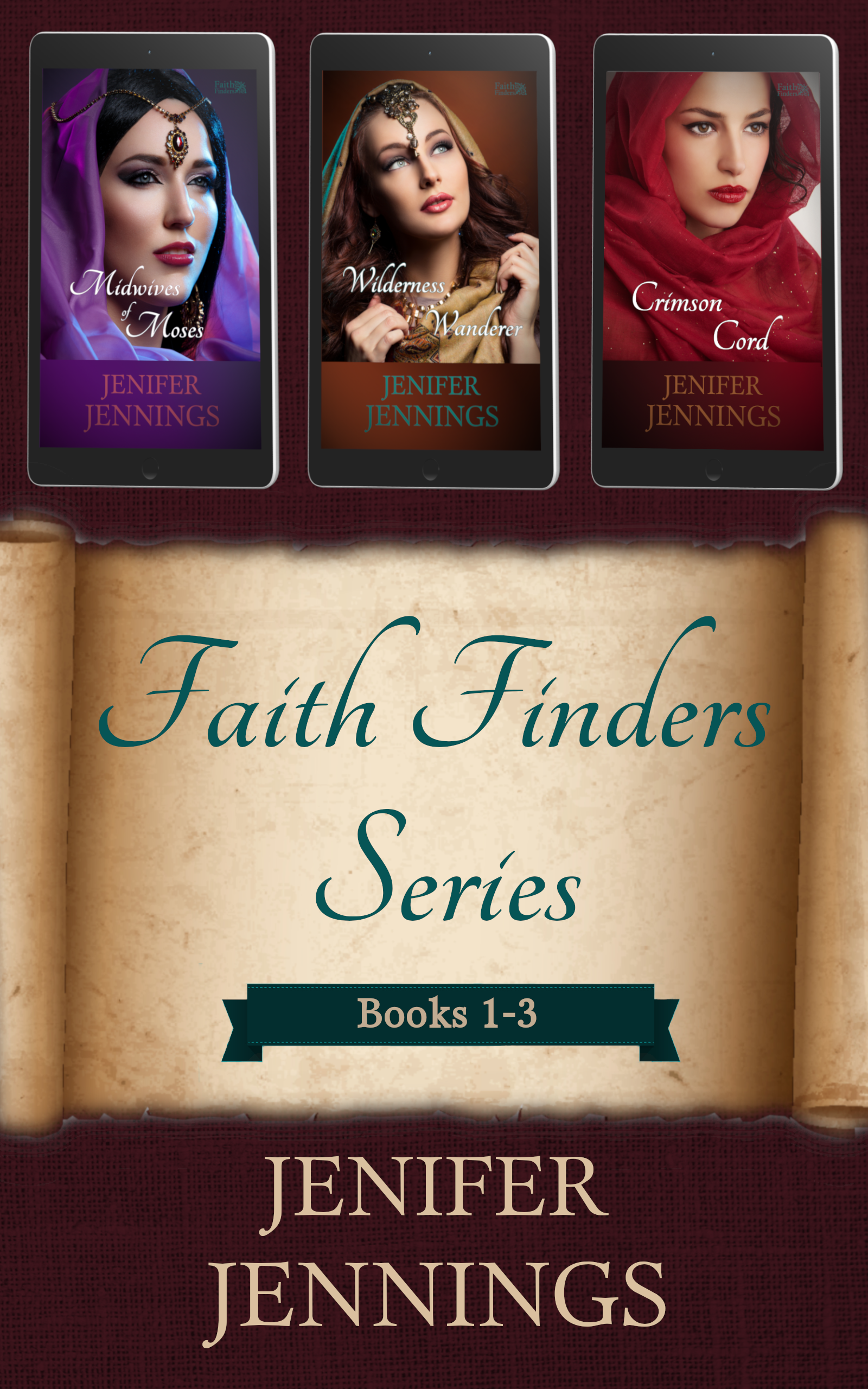 Faith Finders Series: Books 1-3