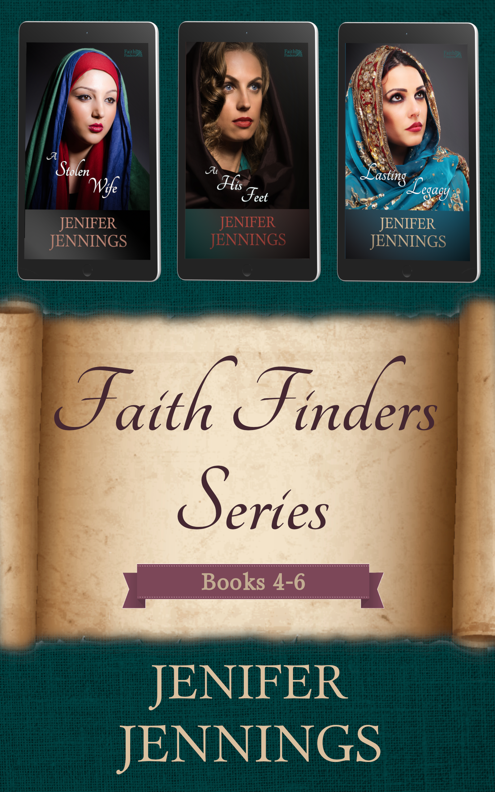 Faith Finders Series: Books 4-6