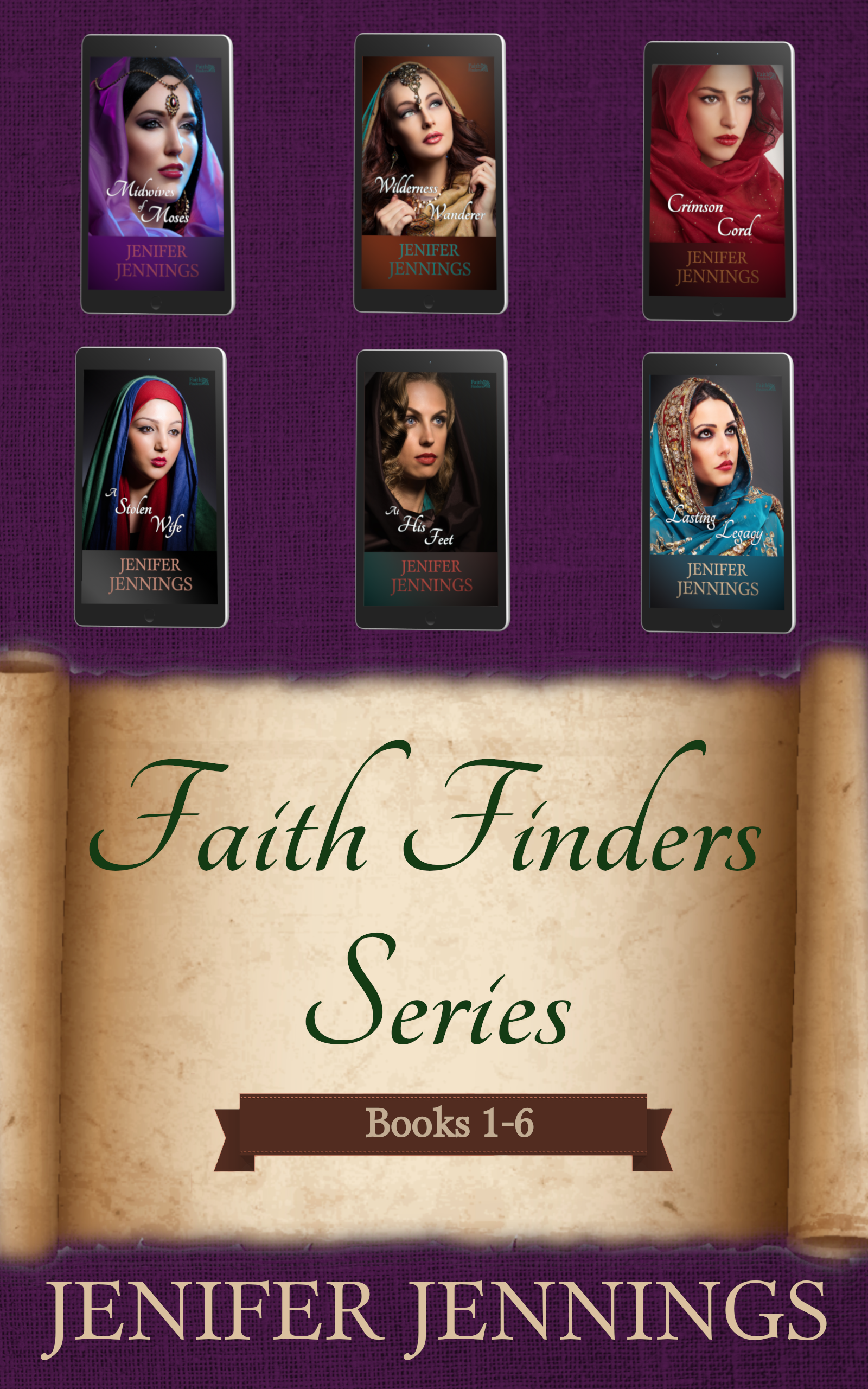 Faith Finders Series: Books 1-6