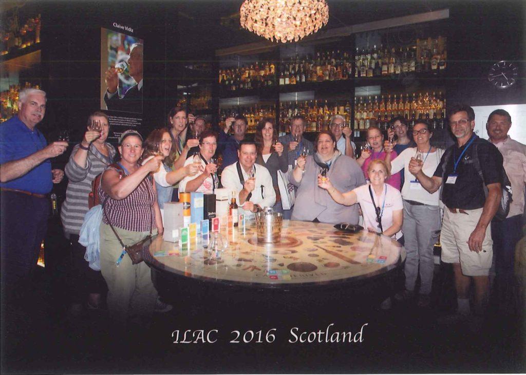 Scotland Group - Whisky Toast