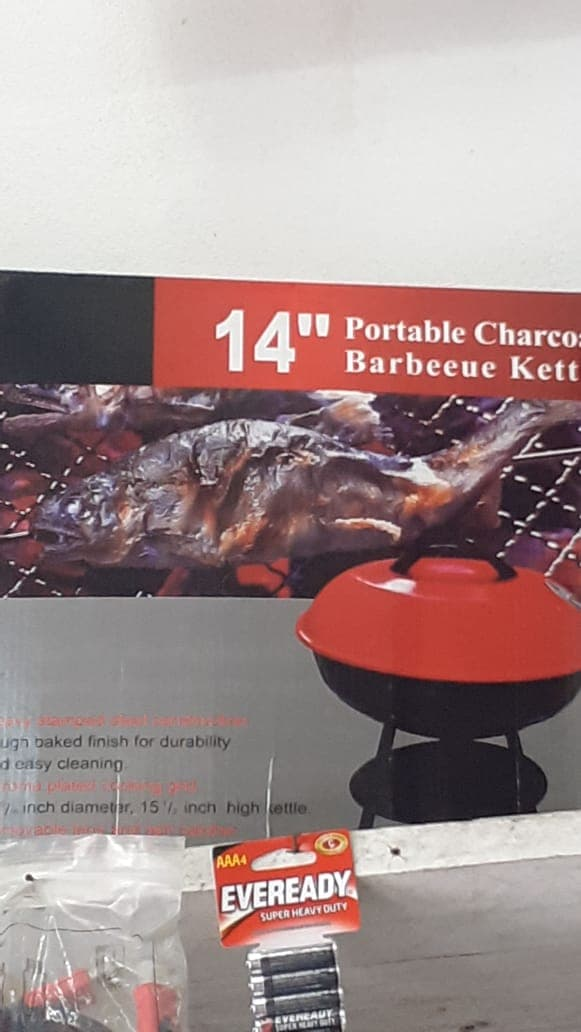 14 Inch Portable Charcoal Grill