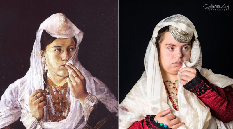 Photographer Turns Classic Paintings Into Photos Featuring Children With Down Syndrome