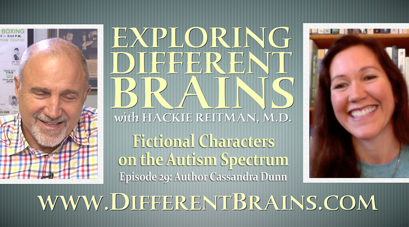 Fictional Characters On The Autism Spectrum With Author Cassandra Dunn   EDB Ep.29