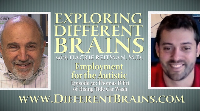 Employment For The Autistic With Thomas D'Eri Of Rising Tide Car Wash   EDB 30