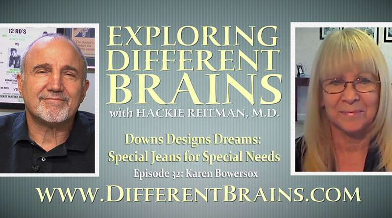 Downs Designs Dreams: Special Jeans For Special Needs With Karen Bowersox   EDB 32