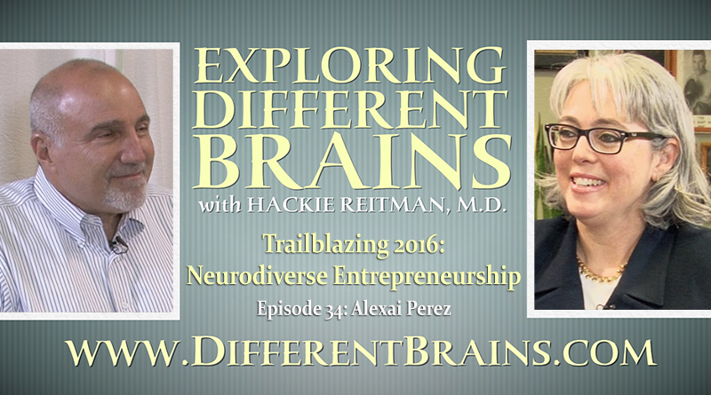 Trailblazing 2016: Neurodiverse Entrepreneurship With Alexai Perez | EDB 34