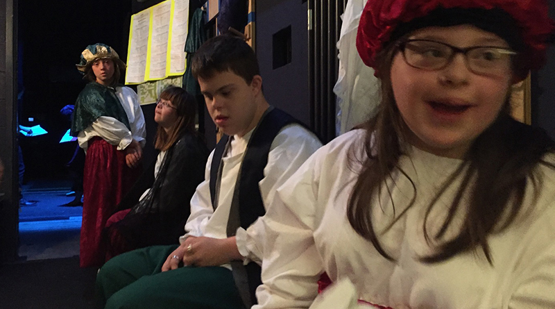 Actors With Down Syndrome Perform At Chicago Shakespeare Theater