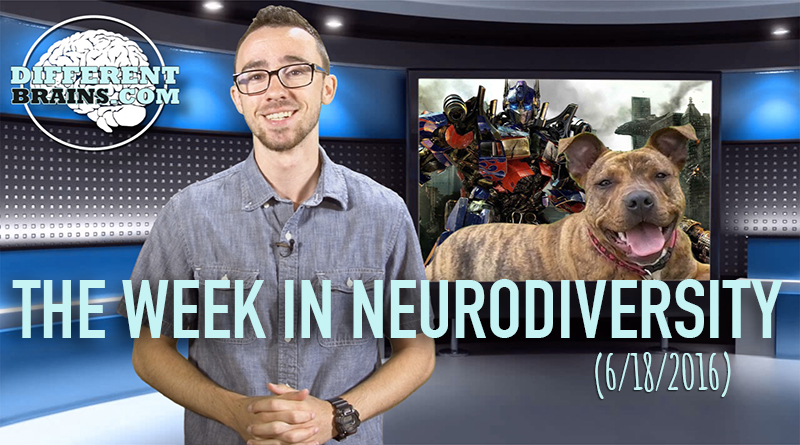 Week In Neurodiversity – Dog With Epilepsy The Next Star Of Transformers? (06/18/16)