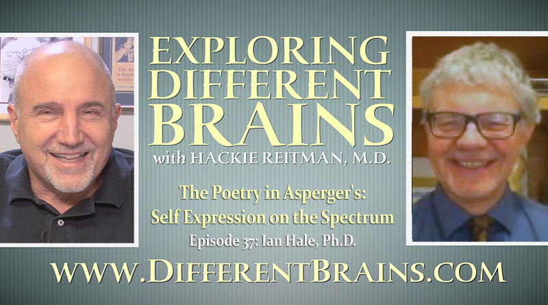 The Poetry In Asperger's: Self Expression On The Spectrum, With Ian Hale, Ph.D.   EDB Episode 37