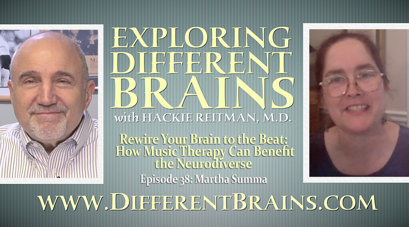 Rewire Your Brain To The Beat: How Music Therapy Can Benefit The Neurodiverse, With Martha Summa   EDB 38