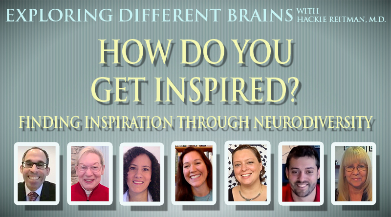 How Do You Get Inspired? Finding Inspiration Through Neurodiversity | EDB 39