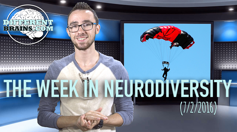 Week In Neurodiversity – Skydiving For Parkinson's Disease (7-2-16)