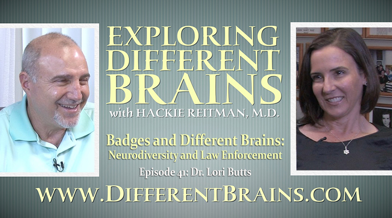 Badges And Different Brains: Neurodiversity And Law Enforcement With Dr. Lori Butts   EDB 41