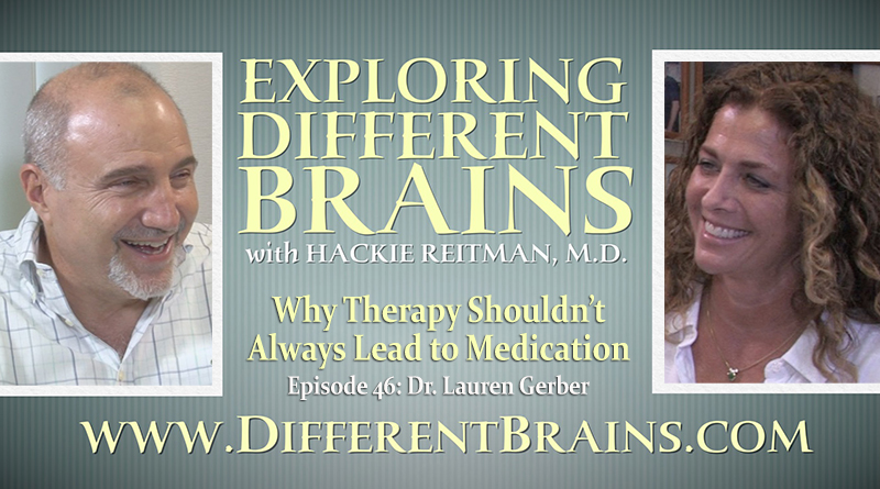 Why Therapy Shouldn't Always Lead To Medication, With Dr. Lauren Gerber   EDB 46