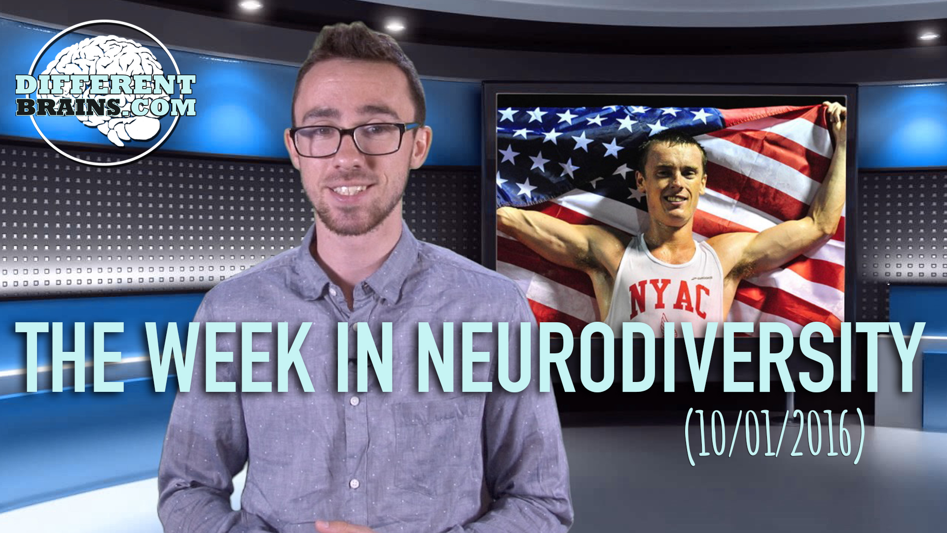 Week In Neurodiversity – Runner With Autism Wins The Gold (10-1-16)