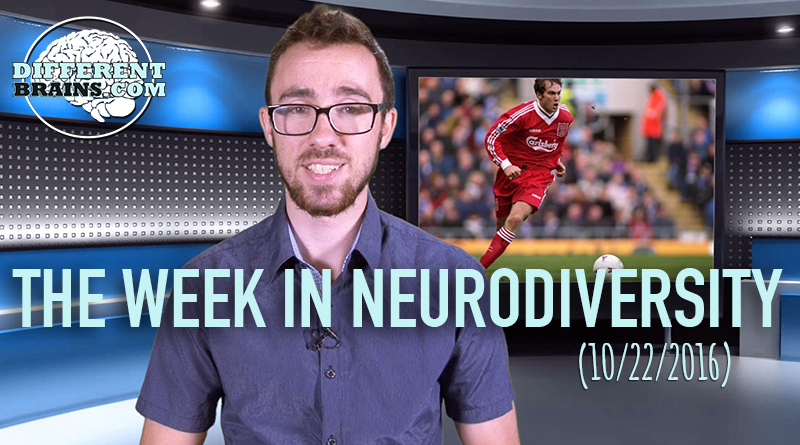Week In Neurodiversity – Soccer Star Opens Up About Depression (10/22/16)